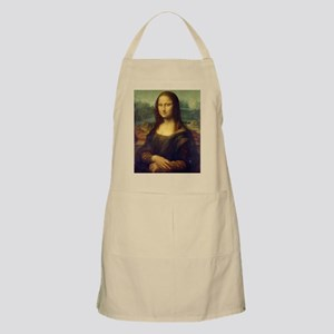 Mona Lisa Reprint Leonardo da Vinci Apron