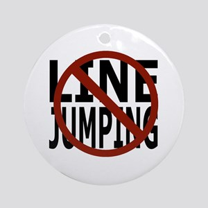 Anti-Line Jumping Ornament (Round)