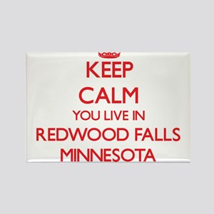 Keep calm you live in Redwood Falls Minnes Magnets
