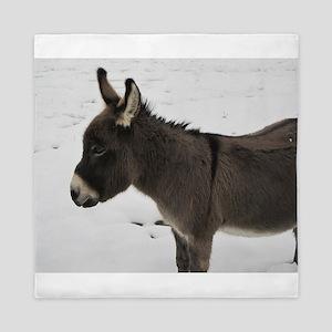 Miniature Donkey III Queen Duvet