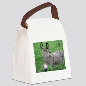 Miniature Donkey Canvas Lunch Bag