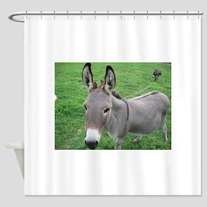 Miniature Donkey Shower Curtain