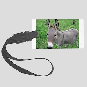 Miniature Donkey Large Luggage Tag