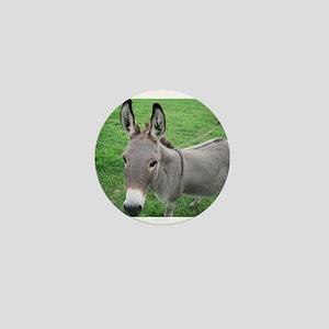Miniature Donkey Mini Button