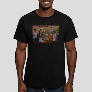 Ethiopian Christmas Da Men's Fitted T-Shirt (dark)