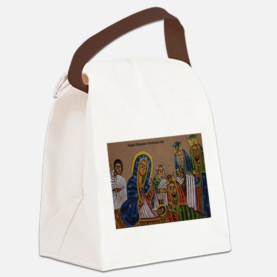 Ethiopian Christmas Day Canvas Lunch Bag