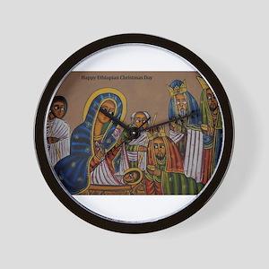 Ethiopian Christmas Day Wall Clock