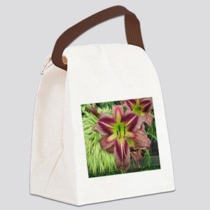 Starman's Quest Daylily Canvas Lunch Bag