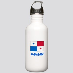 Panama Flag Artistic B Stainless Water Bottle 1.0L
