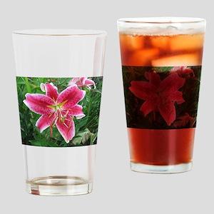 Stargazer Lily Drinking Glass