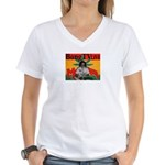 Bong TV Women's V-Neck T-Shirt
