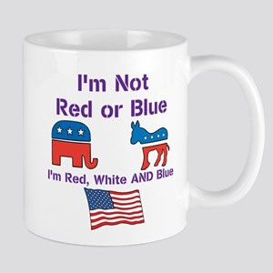 Not Red or Blue Mugs