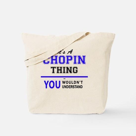 Unique Chopin Tote Bag