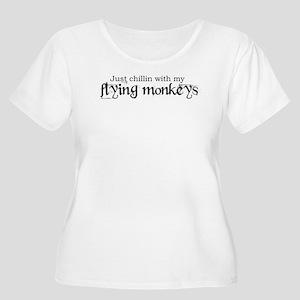 flyinmonkeys2 Plus Size T-Shirt