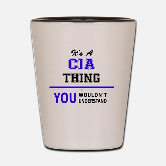 Funny Cia Shot Glass