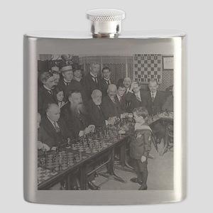 samuel Reshevsky VS The World Flask