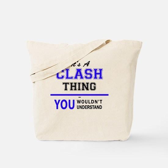 Funny Clash Tote Bag