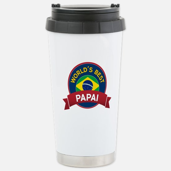 World's Best Papai Stainless Steel Travel Mug