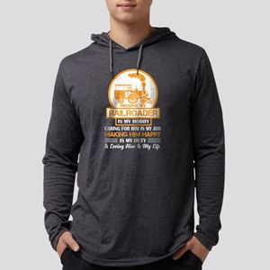 Missing My Railroader T Shirt Long Sleeve T-Shirt