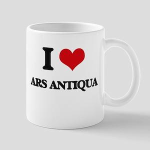 I Love ARS ANTIQUA Mugs