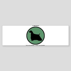 Team Cocker Spaniel (green) Bumper Sticker