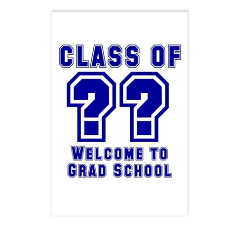 """""""Class of ?? Welcome..."""" Postcards (Package of 8)"""