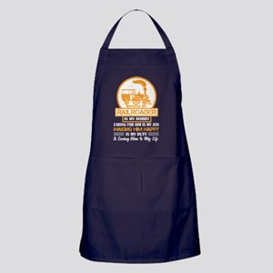 Missing My Railroader T Shirt Apron (dark)
