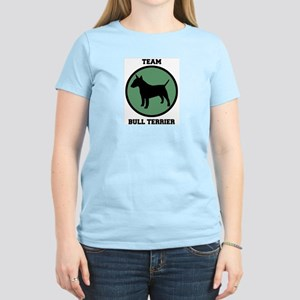 Team  Bull Terrier (green) Women's Light T-Shirt