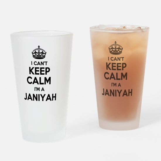 Cute Janiyah Drinking Glass