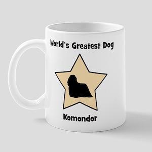 Worlds Greatest Komondor (sta Mug