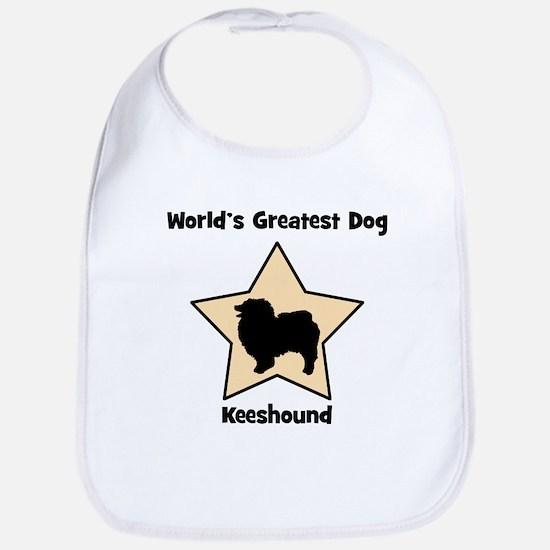 Worlds Greatest Keeshound (st Bib
