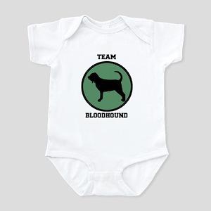 Team  Bloodhound (green) Infant Bodysuit