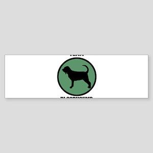 Team Bloodhound (green) Bumper Sticker