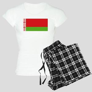 Belarus flag Women's Light Pajamas