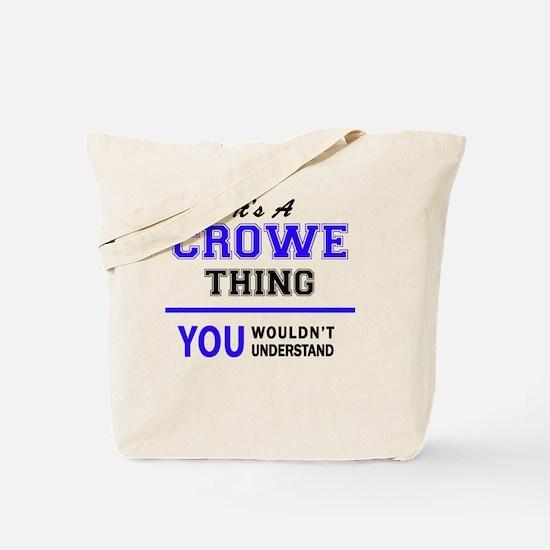Cute Crowe Tote Bag