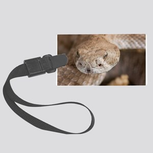 Rattlesnake Large Luggage Tag