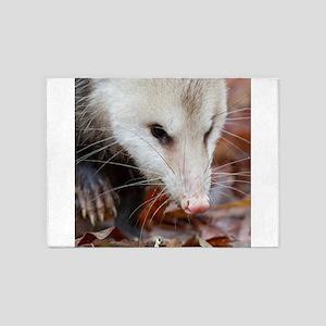Opossum 5'x7'Area Rug