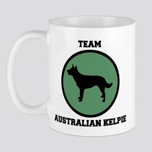 Team  Australian Kelpie (gree Mug