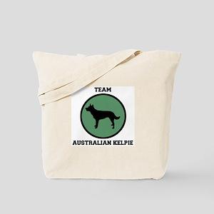 Team  Australian Kelpie (gree Tote Bag