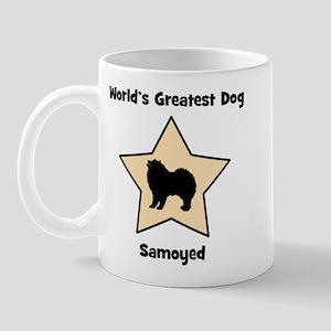 Worlds Greatest Samoyed (star Mug