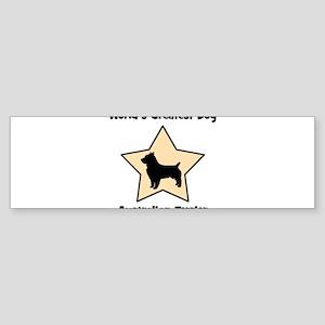 Worlds Greatest Australian Te Bumper Sticker
