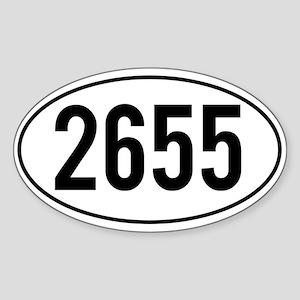 Pacific Crest Trail Mileage Sticker