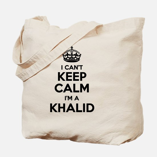 Unique Khalid Tote Bag