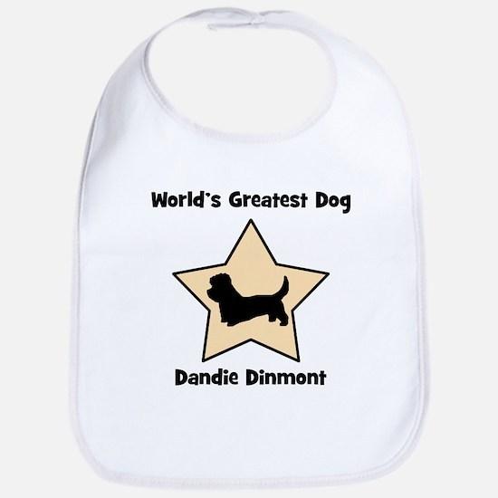 Worlds Greatest Dandie Dinmon Bib