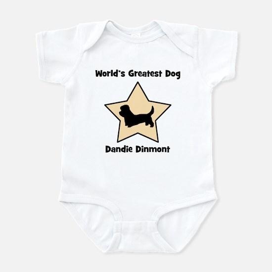 Worlds Greatest Dandie Dinmon Infant Bodysuit