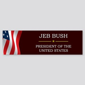 Jeb Bush President V3 Sticker (Bumper)