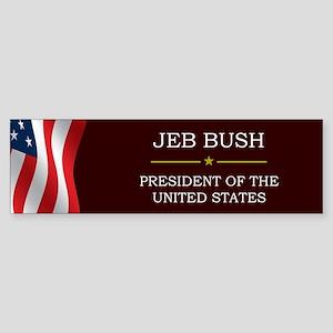 Jeb Bush President V3 Sticker (Bumper)