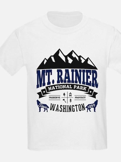 Mt. Rainier Vintage T-Shirt