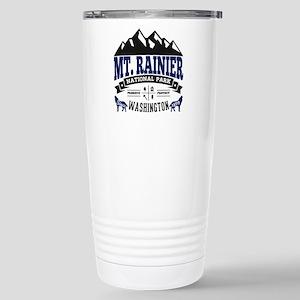 Mt. Rainier Vintage Stainless Steel Travel Mug