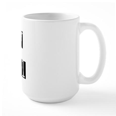 Boy/Girl Check Large Mug